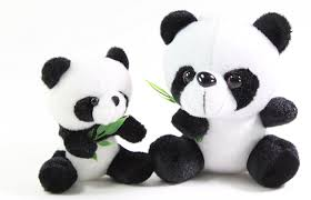 x plush wall: amazoncom set of  panda bear cubs eating bamboo stuffed plush wall window hanging animal toy birthday gift us seller toys amp games