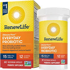 Renew Life Ultimate Flora Adult Everyday Probiotic ... - Amazon.com