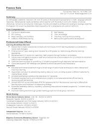 professional special needs teacher templates to showcase your resume templates special needs teacher