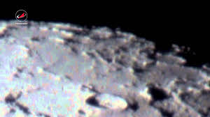 Луна через телескоп/Moon telescope - YouTube