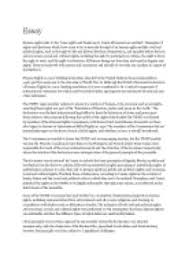 words essay on human rights   gcse law   marked by teacherscom page  zoom in