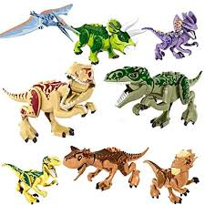 Extpro 8PCS Mini DIY Dinosaur Building Block ... - Amazon.com