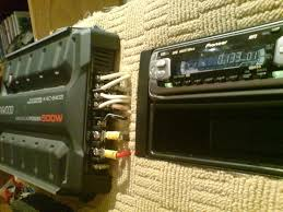 wiring a car audio amplifier and headunit up indoors using pc wiring a car audio amplifier and headunit up indoors using pc power supply