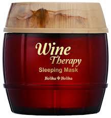 Holika Holika <b>ночная маска</b>-желе Wine Therapy Красное Вино ...