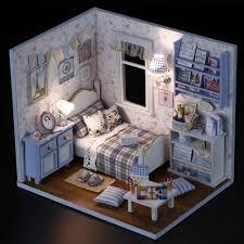 1pcs happy series diy wooden doll house room box handmade 3d miniature dollhouse wood educational toys girl gifts aliexpresscom buy 112 diy miniature doll house