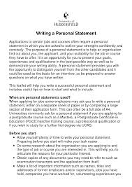Email this Tags it job application personal statement example RzTTRdas