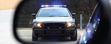 Image result for police car and driver pulled over