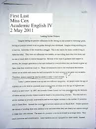 essay format example for high school sample essay for high school students millicent rogers museum