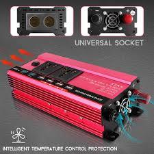 <b>Car</b> Inverter 12V 220V 5000W <b>3000W Peak Power</b> Voltage ...