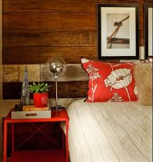country red bedroom decor nice