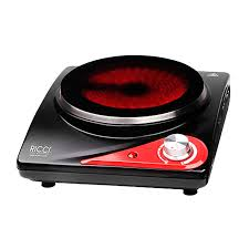 Настольная <b>плита Ricci RIC</b>-3106, Black Red инфракрасная ...