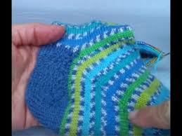 "Sock <b>heel</b> flap tutorial on 9"" circulars -part 3 