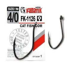 <b>Крючки FANATIK</b> FK-1126 <b>CAT</b> FISH/ СОМ №4/0 купить в Москве ...