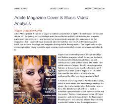 magazine cover analysis essay   buy paper online  markedbyteachers com