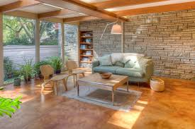 chic painting concrete floors technique milwaukee midcentury family room decorating ideas with basket built in chic family room decorating ideas