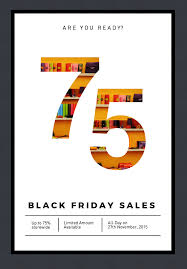 new theme poster template for black friday and annual report black friday poster