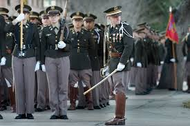 u s department of defense photo essay a commander for the corps of cadets at texas a m university prepares his group for a
