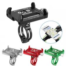 For Cycling Aluminum Universal <b>Bicycle Phone Holder</b> Bike ...
