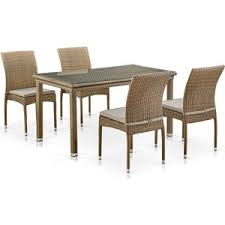 <b>Комплект мебели Afina garden</b> T256B/Y380B-W65 light brown ...