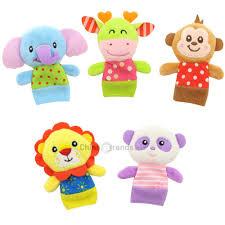 Dropshipping for <b>5 Pcs</b> Baby <b>Finger Puppets</b> Set Cute <b>Animals</b> Baby ...