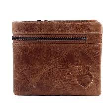 <b>jinbaolai</b> men <b>vintage</b> wallet bi-fold <b>genuine leather</b> coin wallet card ...