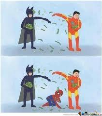 batman memes | Batman Vs Iron Man - Meme Center | Funny funny Dr ... via Relatably.com