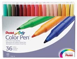 <b>Pentel</b> Набор <b>фломастеров Color Pen</b>, 36 шт. (S360-36) — купить ...
