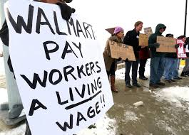 walmart workers strikes reason for company raising wages to 10 walmart workers strikes reason for company raising wages to 10 protesters say cleveland com