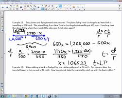 college algebra unit notes word problems distance rate and college algebra unit 1 6 notes word problems distance rate and time 2015