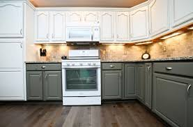 Two Tone Painting Unique Two Tone Kitchen Cabinets Color Ideas For Painting Cabinets