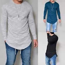 Plus Size <b>S 4XL 5XL Men</b> Fashion Casual Slim Elastic Soft Solid ...