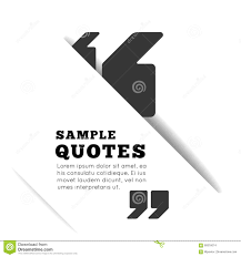 quote blank template stock vector image  quote blank template on white background stock images