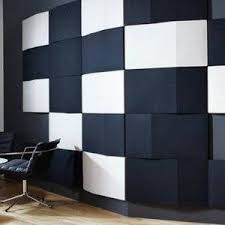 tile board bathroom home: black and white acoustic type of wall panel type of wall panel for the homes
