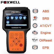 <b>Foxwell</b> 614 <b>Elite</b> OBD2 Car Diagnostic Scanner ABS SRS EPB Oil ...