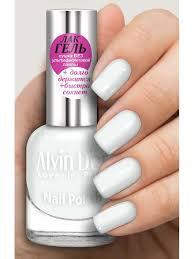 <b>Лак для ногтей</b> лак ГЕЛЬ тон 1610 <b>15мл</b>. Белый Alvin Dor ...