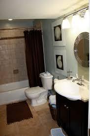 ideas bathroom tile color cream neutral:  bathroom decorating ideas shower curtain