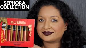 <b>Sephora Collection Wild Wishes</b> Cream Lip Stain Set Review ...