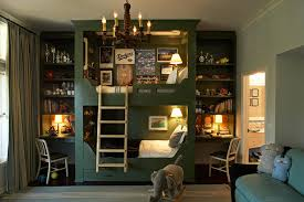 bunk beds with desk kids eclectic with none bunk bed desk