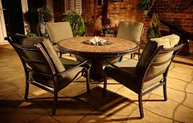 garden furniture patio uamp:  table the outdoor greatroom company withgt fire