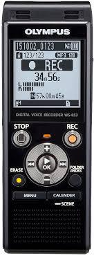 Купить <b>Olympus WS</b>-<b>853</b> black в Москве: цена <b>диктофона</b> ...