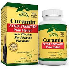 Terry Naturally <b>Curamin Extra Strength Pain</b> Relief | 120 Vegan ...