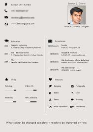 designer resume darshan gajara designer resume