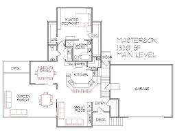 Simple Residential House Plans  designing a bathroom floor plan     Bedroom Split Level Floor Plans