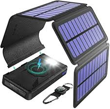 BLAVOR <b>Solar Charger</b> Wireless <b>Power</b> Bank, 20000 mAh: Amazon ...