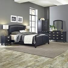 coating furniture metal bedroom sets prescott queen  piece black bedroom set