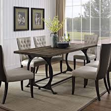 iron dining set