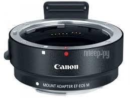 Купить <b>Canon Mount Adapter EF</b>-EOS M - переходник для ...