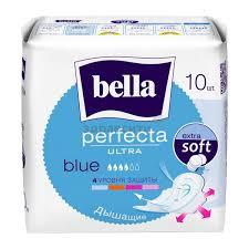 <b>Прокладки Bella</b> (<b>Белла</b>) <b>Perfecta Ultra</b> Blue 10 шт. купить по ...