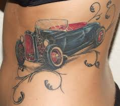 cars tattoos