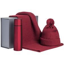 <b>Набор Warmer Brothers</b>, красный с логотипом - цена от 3602 руб ...